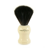 Edwin Jagger Synthetic Shaving Brush - Imitation Ivory | Agent Shave | Wet Shaving Supplies UK