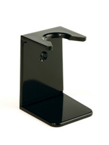 Edwin Jagger Shaving Brush Drip Stand - Black | Agent Shave | Traditional Wet Shaving Supplies UK