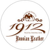 Wickham Soap Co 1912 Shaving Soap - Russian Leather | Agent Shave | Traditional Wet Shaving