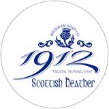 Wickham Soap Co 1912 Shaving Soap - Scottish Heather | Agent Shave | Traditional Wet Shaving