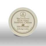 Taylor of Old Bond Street Shaving Cream - Aloe Vera 150g  | Agent Shave | Traditional Wet Shaving