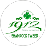 Wickham Soap Co 1912 Shaving Soap - Shamrock Tweed | Agent Shave | Traditional Wet Shaving