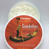 Phoenix Artisan Accoutrements - Gondolier Shaving Soap 4oz | Agent Shave | Wet Shaving Supplies UK
