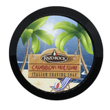 RazoRock Caribbean Holiday Italian Shaving Soap | Agent Shave | Wet Shaving Supplies UK