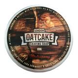 Oatcake Shaving Soap - Mahogany 100g