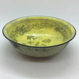 Handmade artisan shaving bowl -  Yellow | Agent Shave | Wet Shaving Supplies UK