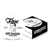Fine 21st Century Shaving Soap - Platinum 150ml | Agent Shave | Wet Shaving Supplies UK