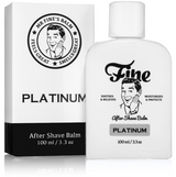 Fine Platinum After Shave Balm 100ml | Agent Shave | Wet Shaving Supplies UK