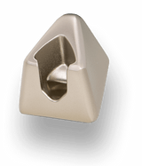 Leaf Shave Razor Stand - Silver | Agent Shave | Wet Shaving Supplies UK
