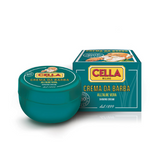 Cella Bio Shaving Cream Tub - Aloe Vera 150ml | Agent Shave | Wet Shaving Supplies UK