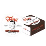 Fine L'Orange Noir Shaving Soap - 21st Century 150g | Agent Shave | Wet Shaving Supplies UK