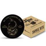 Fine Shaving Soap - Snake Bite 150ml | Agent Shave | Wet Shaving Supplies UK
