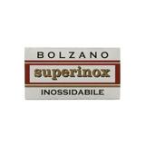 Bolzano Superinox Double Edge Safety Razor Blades | Agent Shave | Wet Shaving Supplies UK