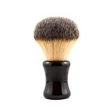 RazoRock Big Bruce Shaving Brush - Plissoft Synthetic 26mm Knot | Agent Shave | Wet Shaving Supplies