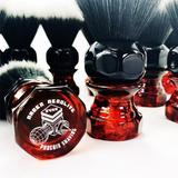 Phoenix Artisan Accoutrements Amber Aerolite Shaving Brush 24mm Synthetic   Agent Shave   Wet Shaving Supplies UK