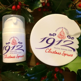 Wickham Soap Co 1912 Christmas Spruce Shaving Soap & Aftershave Balm Set | Agent Shave | Wet Shaving Supplies UK