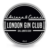 Ariana & Evans London Gin Club Shaving Soap 4oz | Agent Shave | Wet Shaving Supplies UK