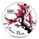 Ariana & Evans A&E Asian Plum Shaving Soap 4oz | Agent Shave | Wet Shaving Supplies UK