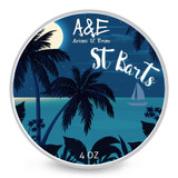 Ariana & Evans A&E St Barts Shaving Soap 4oz | Agent Shave | Wet Shaving Supplies UK