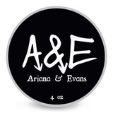 Ariana & Evans A&E Monte Carlo Shaving Soap 4oz | Agent Shave | Wet Shaving Supplies UK