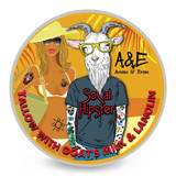 Ariana & Evans A&E SoCal Hipster Shaving Soap 4oz | Agent Shave | Wet Shaving Supplies UK