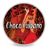 Ariana & Evans A&E Choco Cubano Shaving Soap 4oz | Agent Shave | Wet Shaving Supplies UK