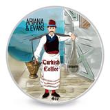 Ariana & Evans Turkish Coffee Shaving Soap 4oz | Agent Shave | Wet Shaving Supplies UK