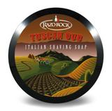 Razorock Tuscan Oud Italian Shaving Soap | Agent Shave | Wet Shaving Supplies UK