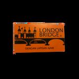 Gillette London Bridge Double Edge DE Razor Blades 5s | Agent Shave | Wet Shaving Supplies UK