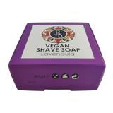 Phoenix and Beau Vegan Shaving Soap Lavandula 40g   Agent Shave   Wet Shaving Supplies UK