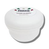 Proraso Shaving Soap Sensitive (White) 150ml | Agent Shave | Wet Shaving Supplies UK