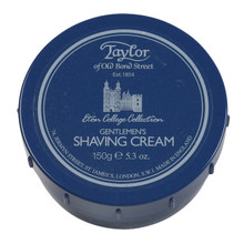 Taylor of Old Bond Street - Eton College Collection Shaving Cream 150g   Agent Shave   Traditional Wet Shaving