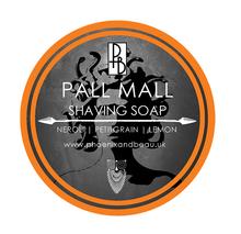 Phoenix and Beau Pall Mall Shaving Soap | Neroli, Petitgrain, Lemon | Traditional Wet Shaving |  Agent Shave