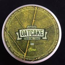 Oatcake Soaps Lime Shaving Soap 100g | Agent Shave | Traditional Wet Shaving
