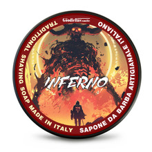 The Goodfellas Smile Inferno Tallow Traditional Shaving Soap 100ml | Agent Shave