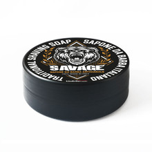 The Goodfellas Smile Savage Traditional Shaving Soap 100ml   Made in Italy   Agent Shave