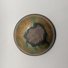 Artisan Shaving Bowl - Gold & Green | Agent Shave | Wet Shaving Supplies UK