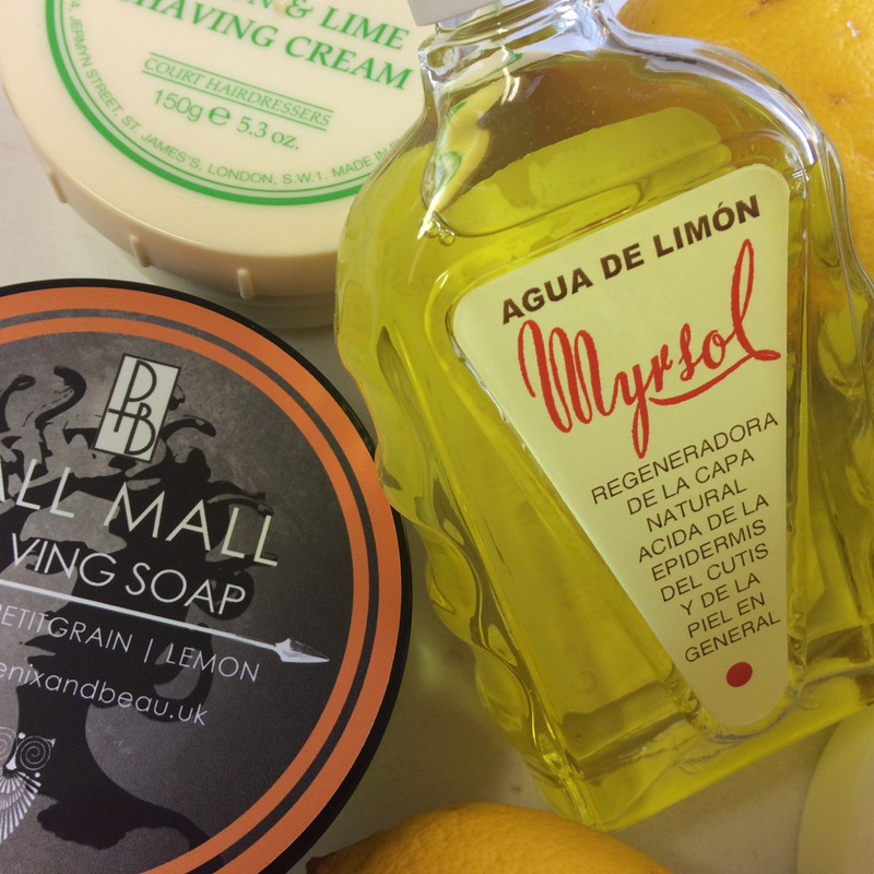 A Lemon Traditional Wet Shave!