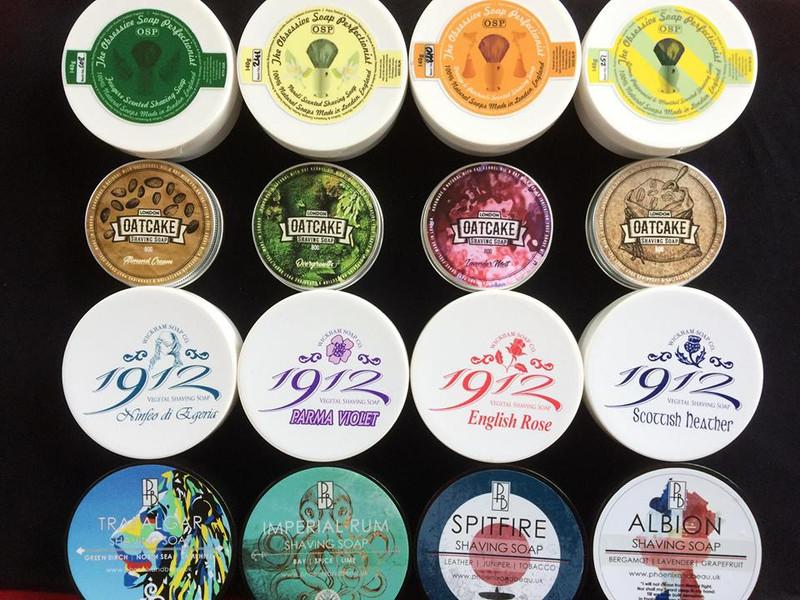 UK shaving soap artisan news