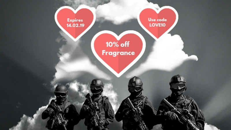 Valentines Fragrance Offer