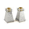 Short Tapered Candle Holders
