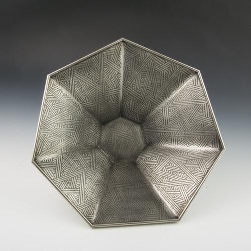 Pewter Deco Bowl