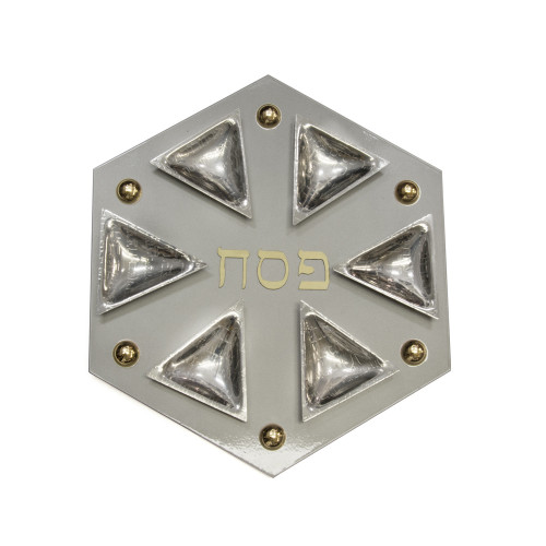 Polygon Magnetic Passover Seder Plate