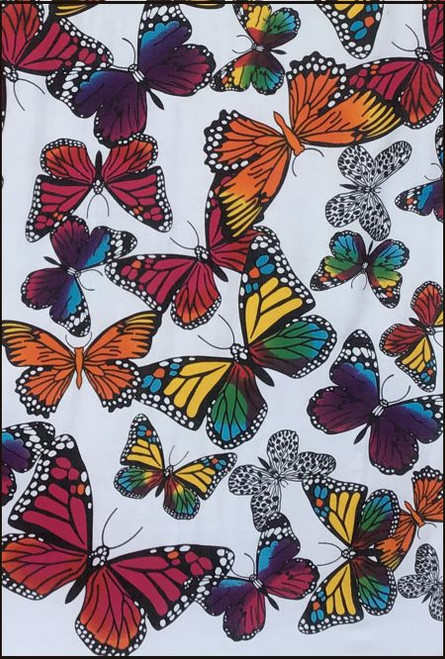 Butterfly Fringed Sarong