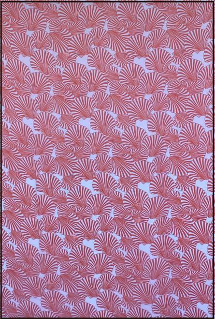 Tropical life Coral  Fringed Sarong