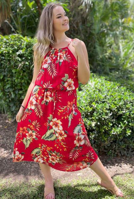 11983 Tia Ladies Summer Long Dress