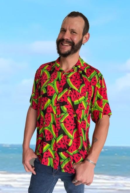 19990 Tony Men's Watermelon Shirt