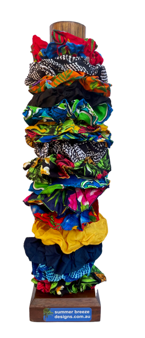 Scrunchies Assorted Pack 10