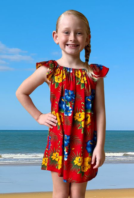 18987 Matilda Kids Peasant Dress Savannah