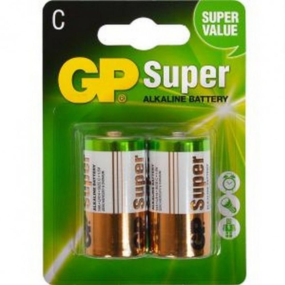 GP14A-C2 -  GP Super Alkaline C (2 pack)